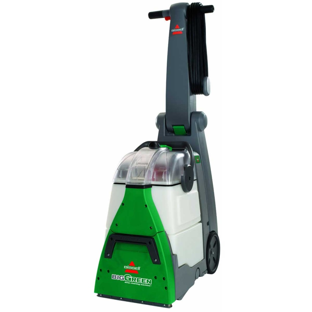 green carpet cleaning machine