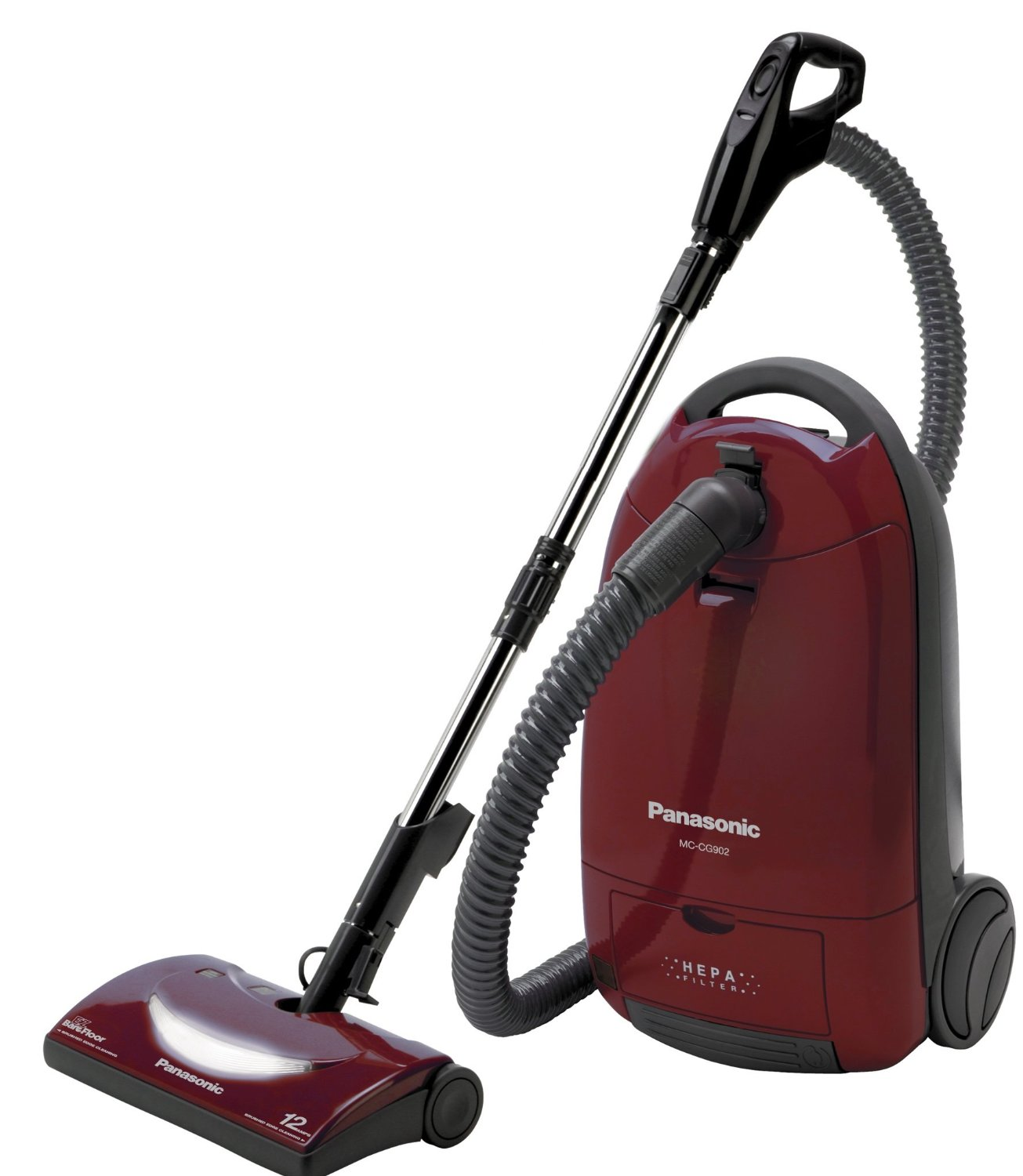 Amazing Panasonic MC CG902 Full Size Bag Canister Vacuum Cleaner