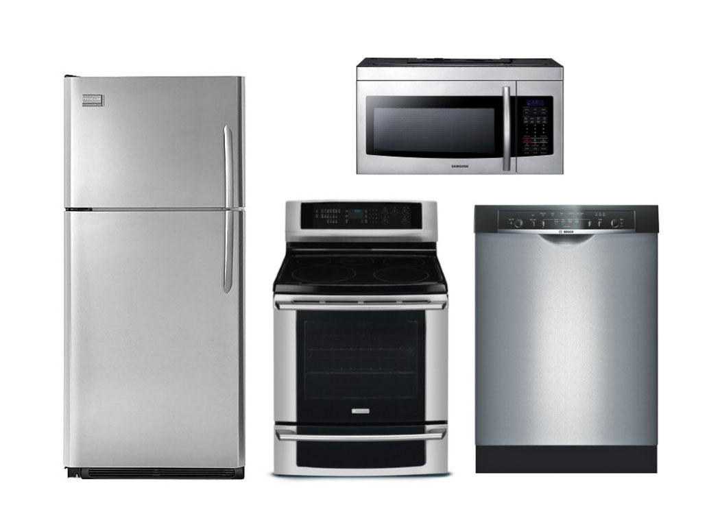 Black Appliances In Kitchen Images